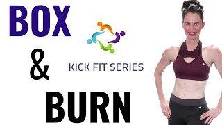 30 MINUTE WORKOUT | BOX AND BURN RESISTANCE BAND STYLE | WEIGHT LOSS WORKOUT | FAT BURNING WORKOUT