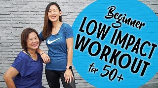 Beginner Low Impact Workout for 50+ | Joanna Soh