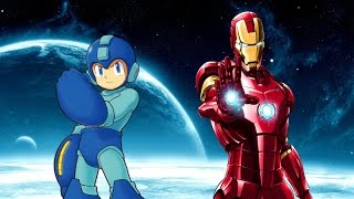 Mega man vs iron man