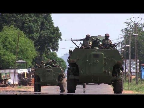 MISCA troops and anti-balaka militia clash in Bangui
