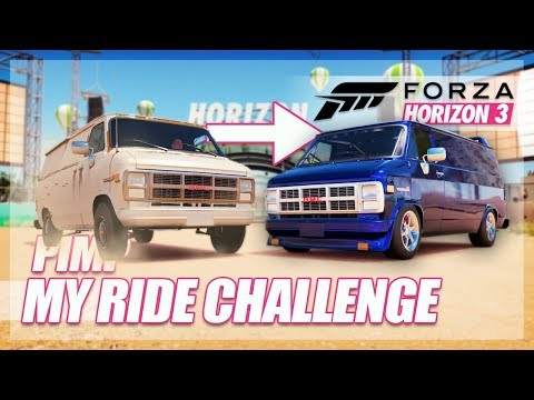 Forza Horizon 3 - Pimp My Ride Challenge! (Rice To Nice)