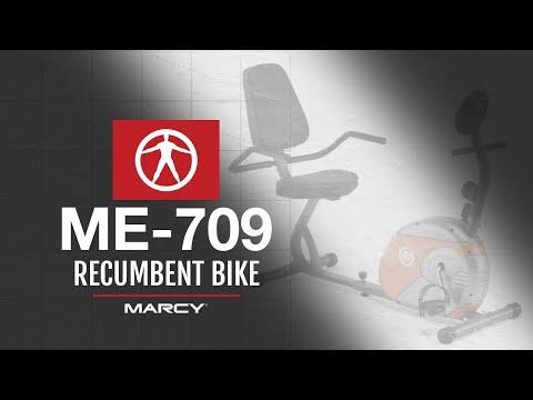 The Marcy Pro ME-709 Recumbent Bike