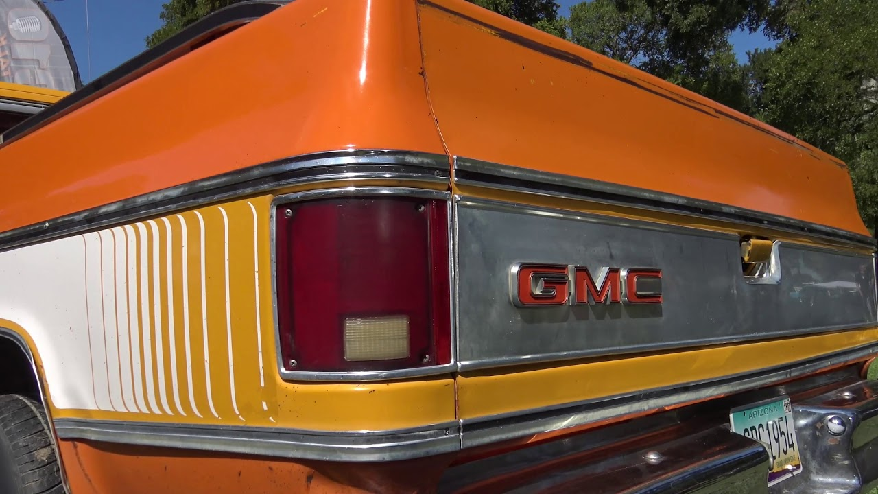 1976 GMC Sierra pickup truck, not a C10 or C/K Chevy Truck ...