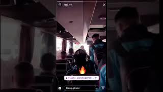 Takımımız Beşiktaş maçı için İstanbul'da. Novak'ın paylaşımı