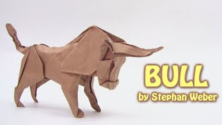 Origami BULL by Stephan Weber (part 2 of 2) - Yakomoga Origami tutorial