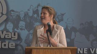 Sophie Grégoire-Trudeau serenades during MLK tribute