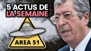Invasion de la zone 51, Balkany en prison, grève climat, Arabie Saoudite.. 5 actus de la semaine