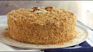 Медовый торт с бананами,НАИВКУСНЕЙШИЙ десерт
