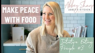How to Eat INTUITIVELY on a Vegan Diet| Learning to Make Peace with Food