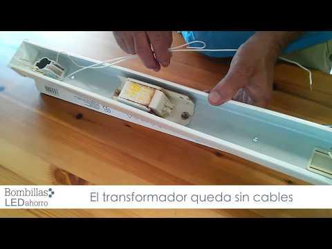 Como sustituir foco led buzzpls com for Sustituir tubo fluorescente por led