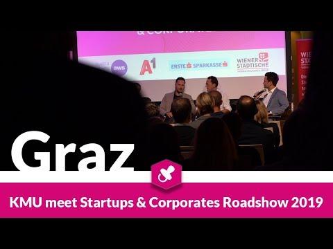 KMU Meet Startups & Corporates Roadshow 2019   Graz, Steiermark
