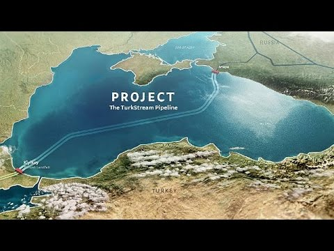 TurkStream gas pipeline: work starts - economy