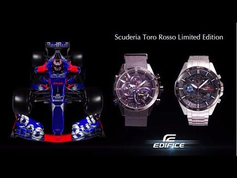 881ec7d584c EDIFICE EQB-501TRC   EFR-556TR - Scuderia Toro Rosso Special Editions