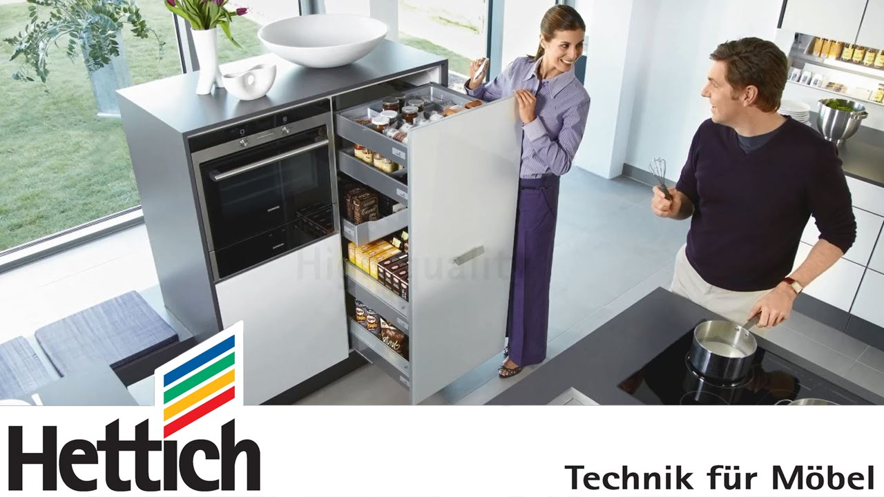 Beautiful And Intelligent Kitchens With Innotech Drawers