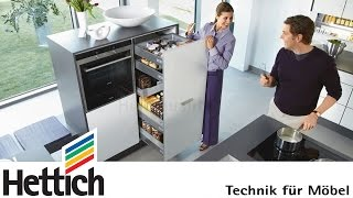 Beautiful And Intelligent Kitchens With Innotech Drawers And Sensys Hinges From Hettich