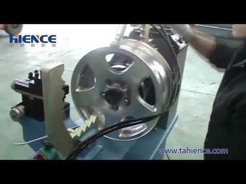 Hydraulic RIM STRAIGHTENING MACHINE for Wheel Rim Repair ...