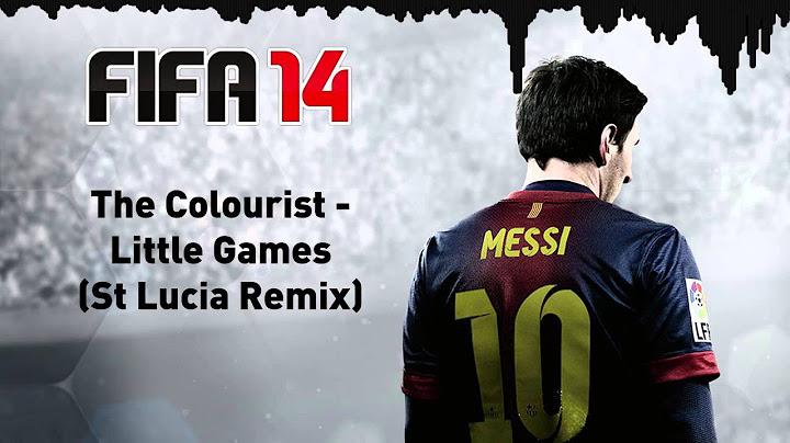 fifa 14 the colourist  little games st lucia remix