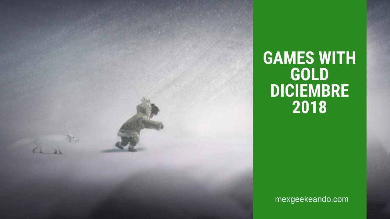 Games With Gold Diciembre 2018 Juegos Gratis Xbox One Youtube
