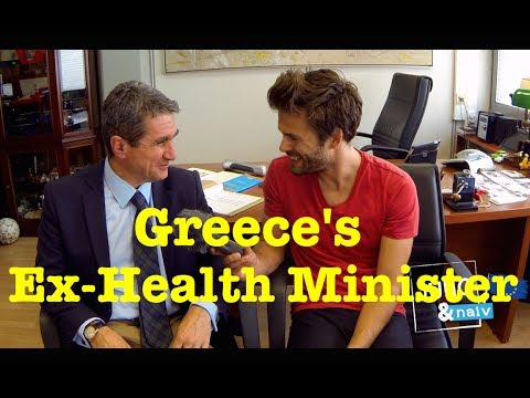 Greece's Ex-Health Minister - Jung & Naiv: Episode 150