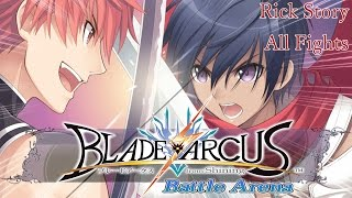 Rick Story Mode Walkthrough - Blade Arcus from Shining: Battle Arena [English, Full 1080p HD]