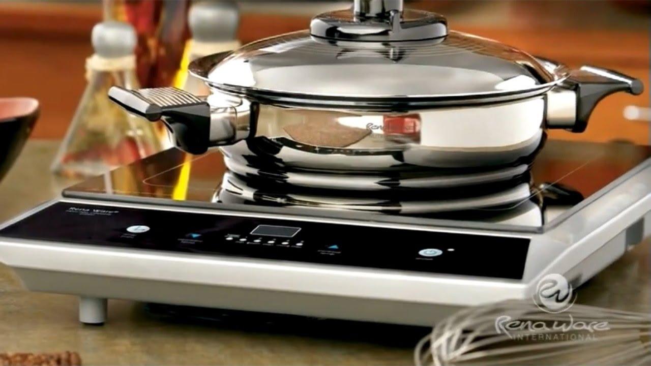 Rena ware la cocina de inducci n youtube for Cocina induccion precio