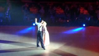 Katrina et Maxime Dereymez sur une valse viennoise à la patinoire Polesud de Grenoble