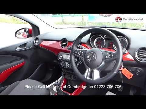 ND64OPZ Vauxhall Adam JAM 1.2l MURKETTS CAMBRIDGE