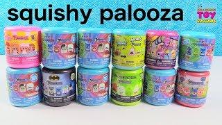 PJ Masks MLP Batman Spongebob Fashems Mashems Palooza Toy Review   PSToyReviews