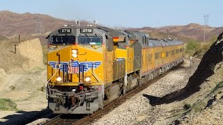 [HD] Railfanning the UP Lordsburg, Phoenix and Gila Subdivisions in Early 2017