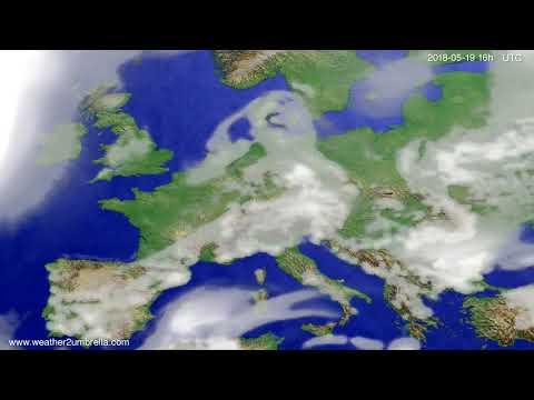 Cloud forecast Europe 2018-05-16