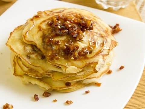Honey and Dates Pancakes