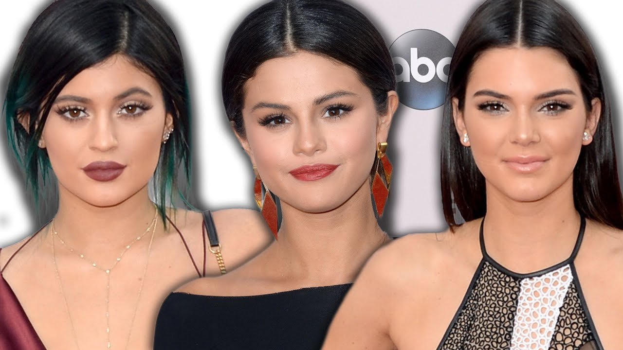 Selena Gomez, Kylie & Kendall Jenner on the Red Carpet ...
