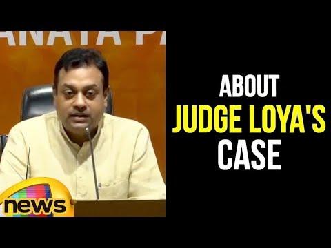 Sambit Patra Speaks About Judge Loya's Case   Mango News
