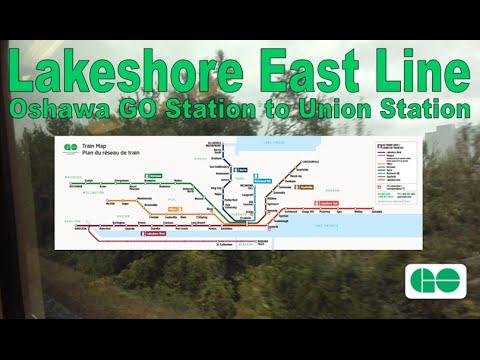 Lakeshore East Line - GO Transit 1983-84 Hawker Siddeley BiLevel Series II 2150 (Oshawa to Union)