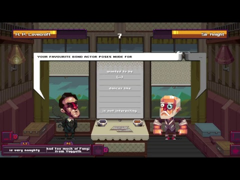 Oh...SIR! The Insult Simulator: H.P Lovecraft Farts In Your General Direction