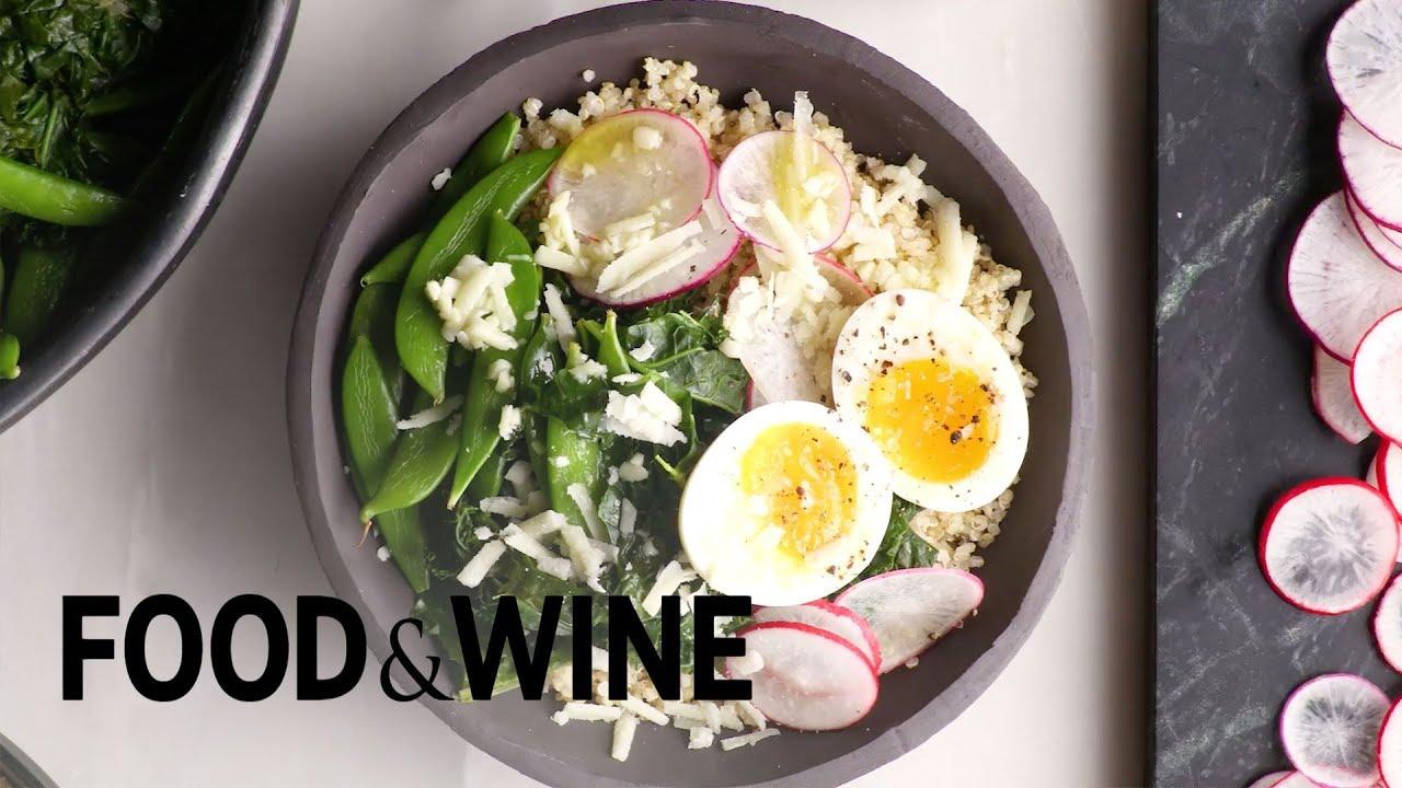 Quinoa egg bowl with pecorino recipe food wine youtube quinoa egg bowl with pecorino recipe food wine forumfinder Choice Image