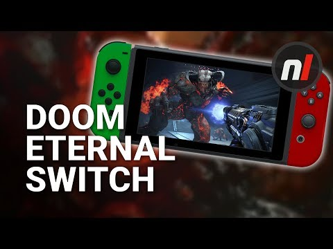 Don't Worry, DOOM Eternal on Switch Will Be Amazing, 30fps and All