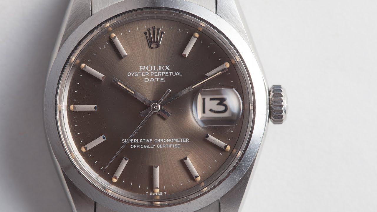 Rolex Thunderbird Datejusts Aquastar Paul Garnier More In The Watch Diagram Of A Below Shows Case Detail Metal