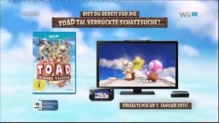 Captain Toad: Treasure Tracker für Wii U - Deutsche TV-Werbung