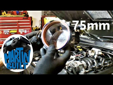 Converting GM 75mm Throttle Body to fit Dodge Jeep 4.7L Part 1