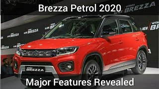 BREZZA Facelift Petrol Major Features Leaked |New Colors | Feb 2020