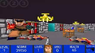Wolfenstein 3D made on FPS Maker.