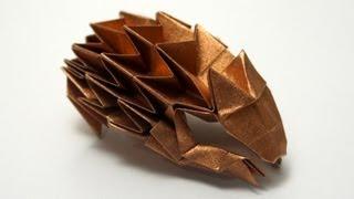 Origami Hedgehog (Paulius Mielinis)