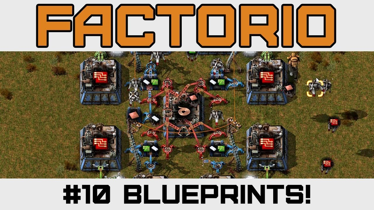 Blueprints & Robots are SWEET - Let's Play Factorio - Version 0 15 - Ep 10