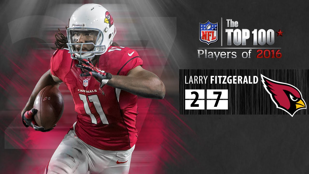 #27: Larry Fitzgerald (WR, Cardinals) | Top 100 NFL Players of 2016