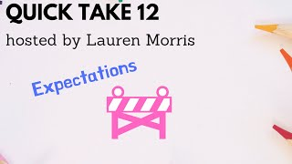 Improv Teachers: Quick Take #12, Expectations!