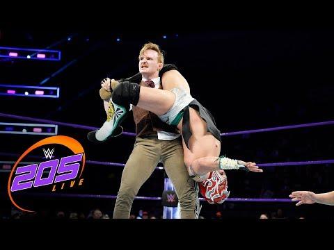 Kalisto vs. Gentleman Jack Gallagher: WWE 205 Live, Dec. 12, 2017