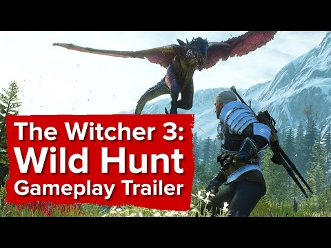 New Witcher 3 Game Trailer Released Ahead of May 19th Launch (video)