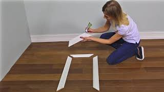 Потолочный деревянный плинтус своими руками: видео-инструкция, фото