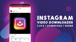 Gambar cover How to download Instagram videos on android | Instagram video downloader for android